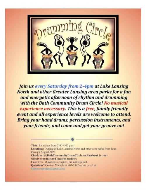 Bath Community Drum Circle