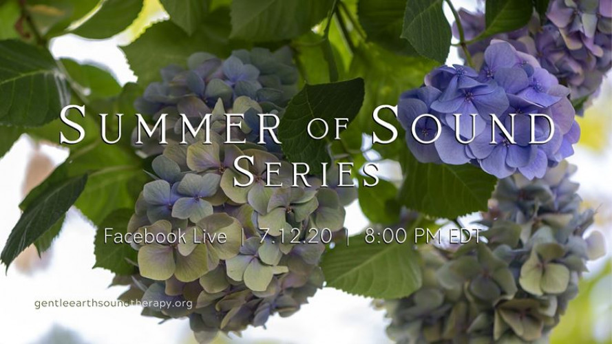 Facebook Live - Summer of Sound Series