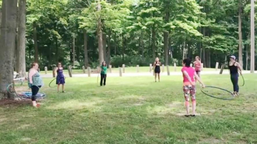 Outdoor Hoop Dancing Class w/ Nat Spinz