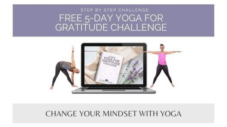 FREE 5-Day Yoga for Gratitude Challenge