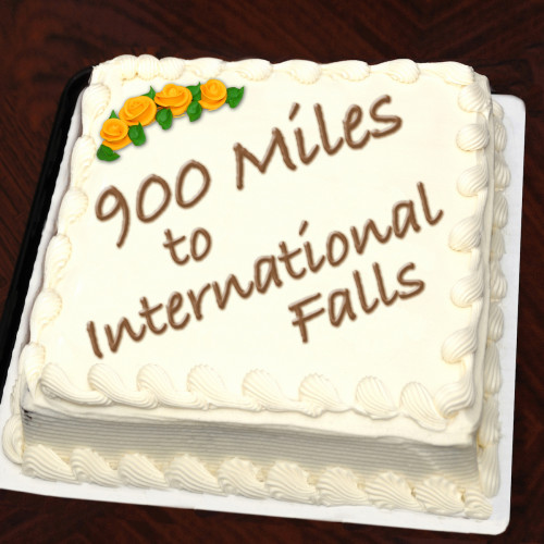 900 Miles to International Falls