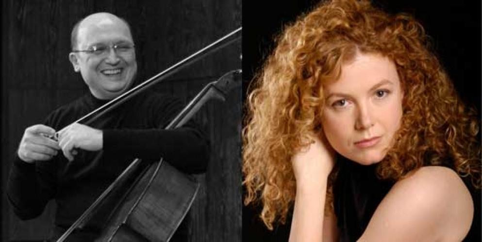 Suren Bagratuni, cello, and Margarita Shevchenko, piano
