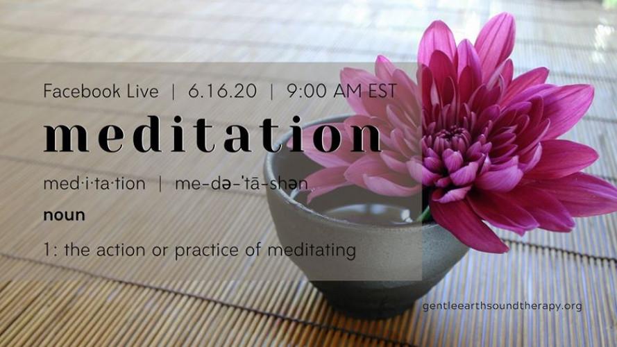 Facebook Live - Insight Meditation