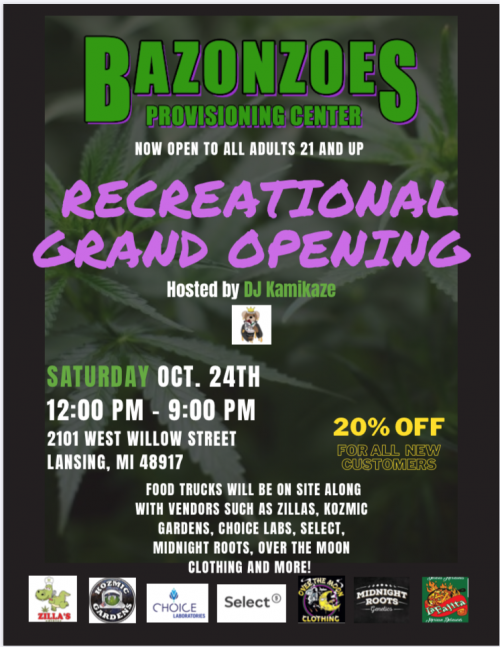 Bazonzoes Grand Opening!