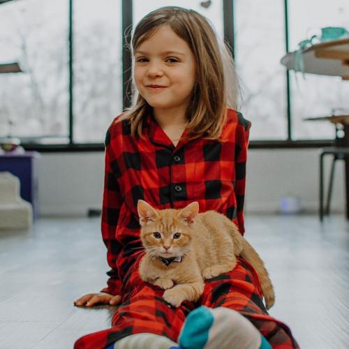 Valentine Photoshoot with Kittens