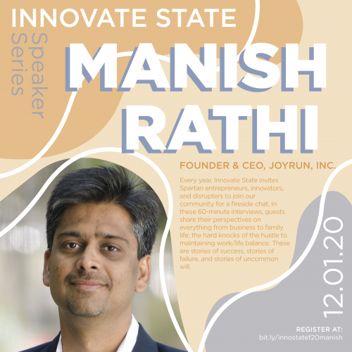 Innovate State, with Manish Rathi