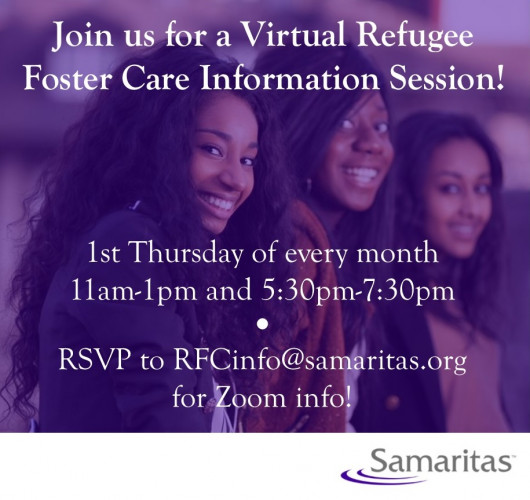 Virtual Refugee Foster Care Information Session