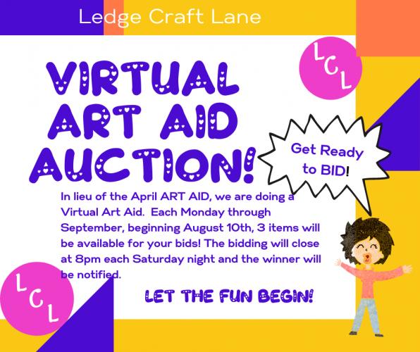 Virtual ART AID Auction