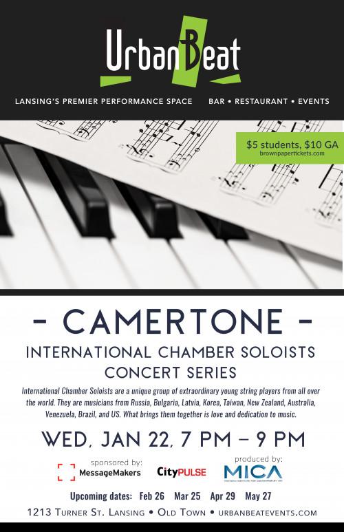 Camertone: International Chamber Soloists Concert Series