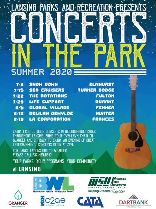 Concerts in the Park - La Corporation