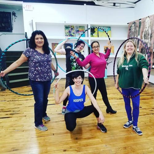 Hoop Dancing 101 w/ Nat Spinz