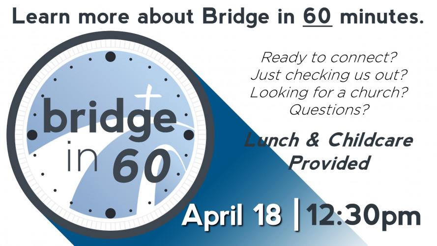 Bridge in 60 | 12:30pm