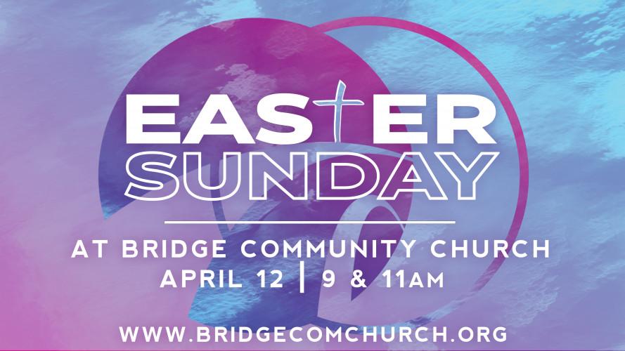 Easter Sunday   9 & 11am