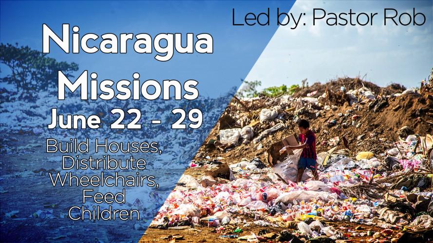 Nicaragua Missions Trip