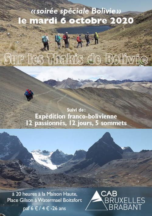 SOIRÉE CULTURELLE - Spéciale Bolivie