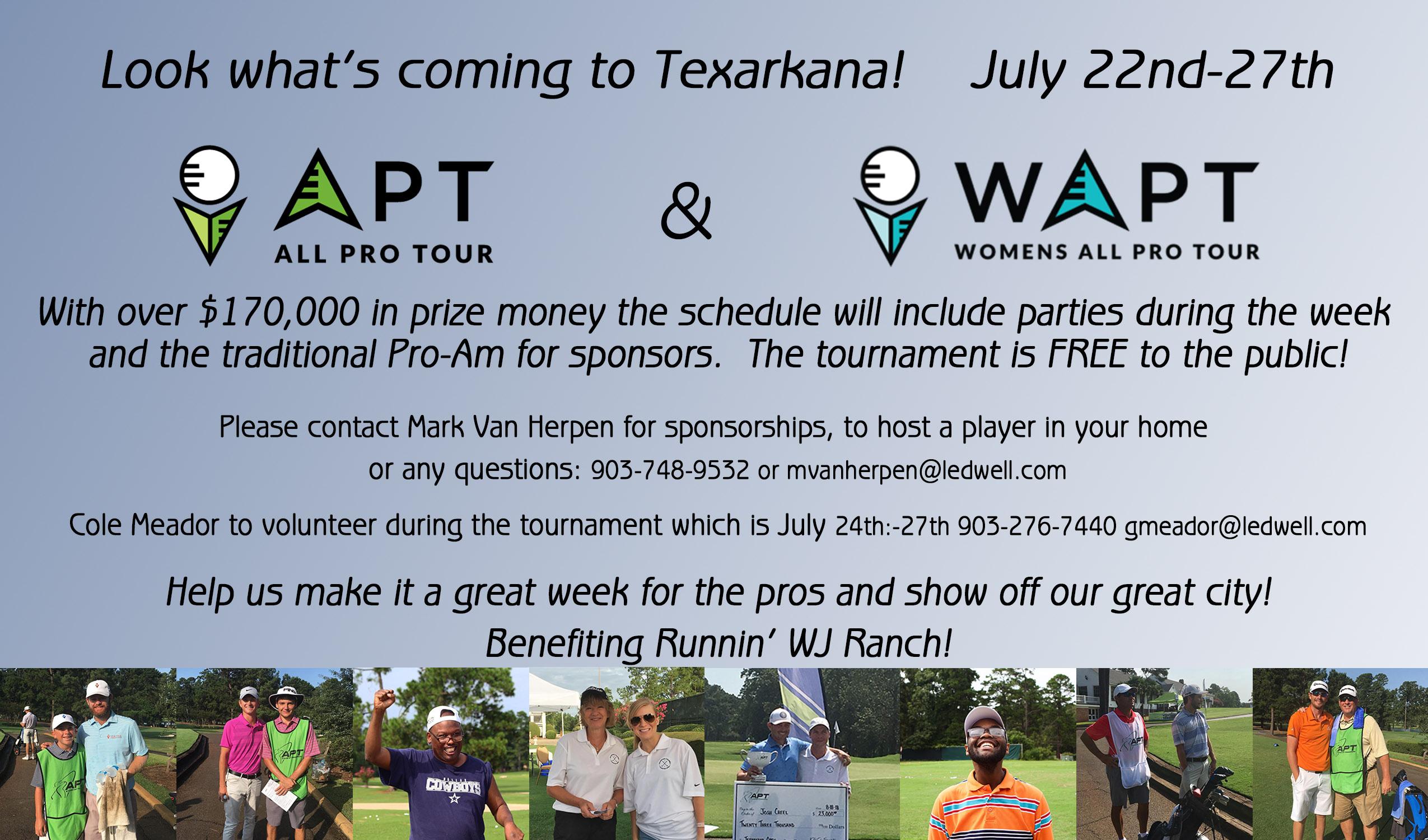 Texarkana Children Charities Open - APT & WAPT Tour