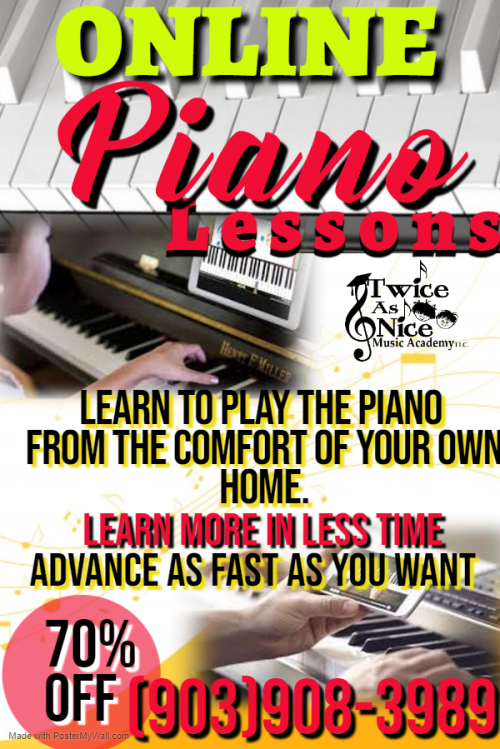 Online Private Piano lessons