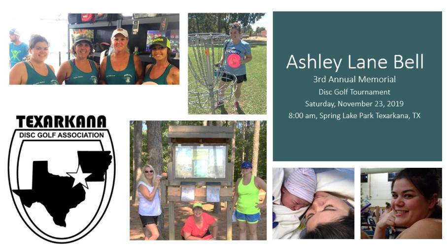 Ashley Lane Bell Memorial Disc Golf Tournament
