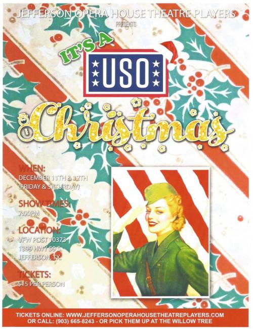 It's a USO Christmas Show