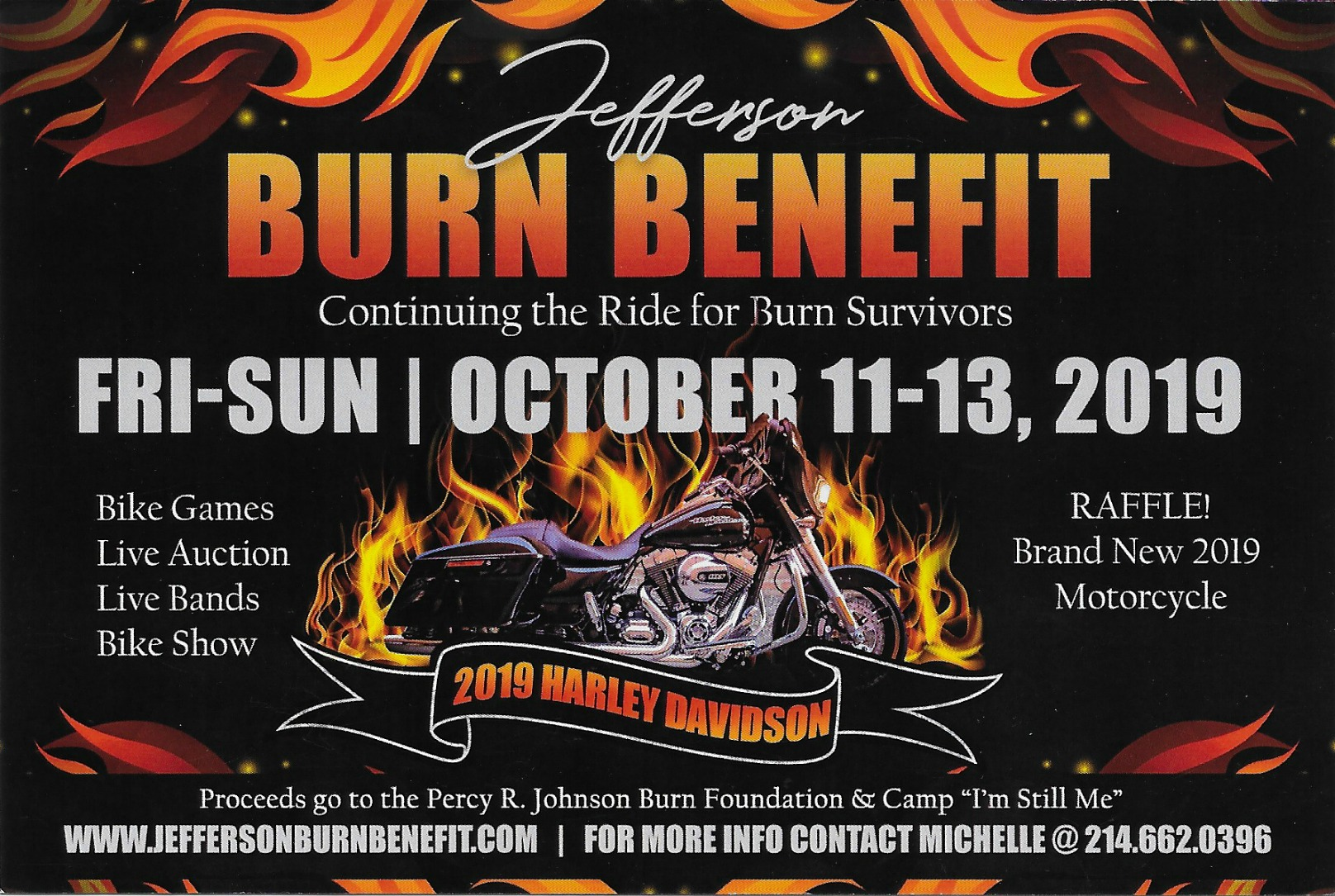 Jefferson Burn Benefit