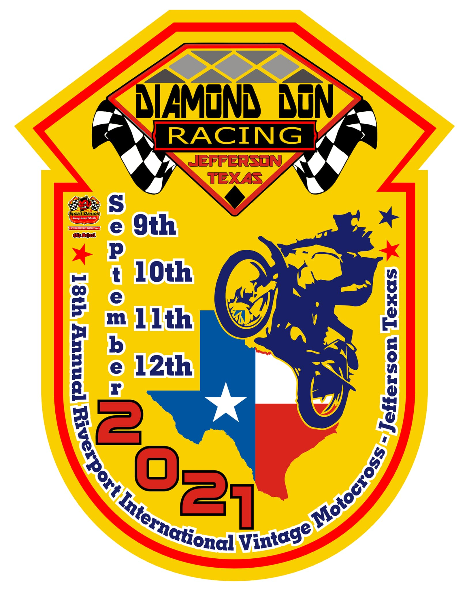 Annual AHRMA International Vintage Motocross