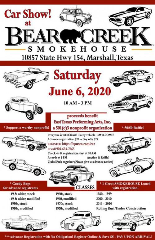 Car Show at Bear Creek Smokehouse