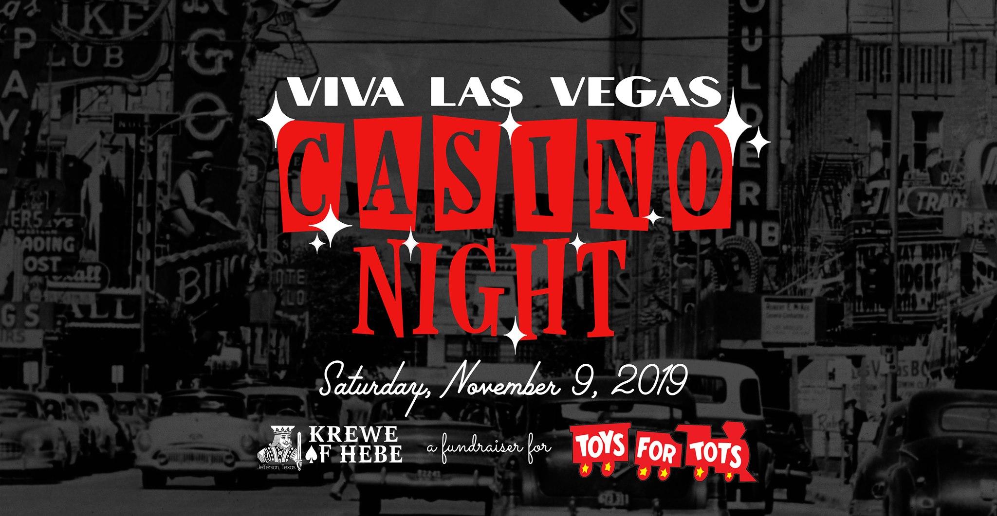 Casino Night/ Krewe of Hebe