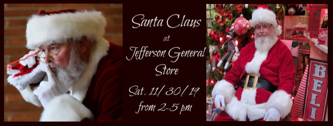 Santa Claus at Jefferson General Store