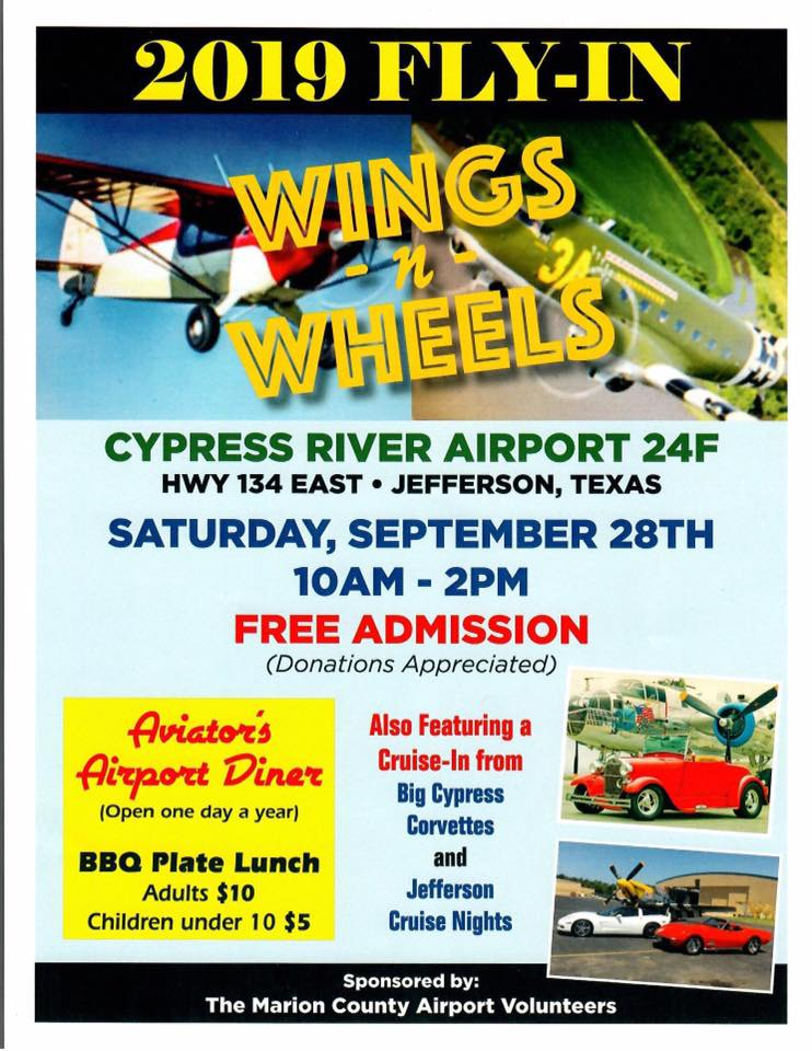 Fly-in at Jefferson's Airport