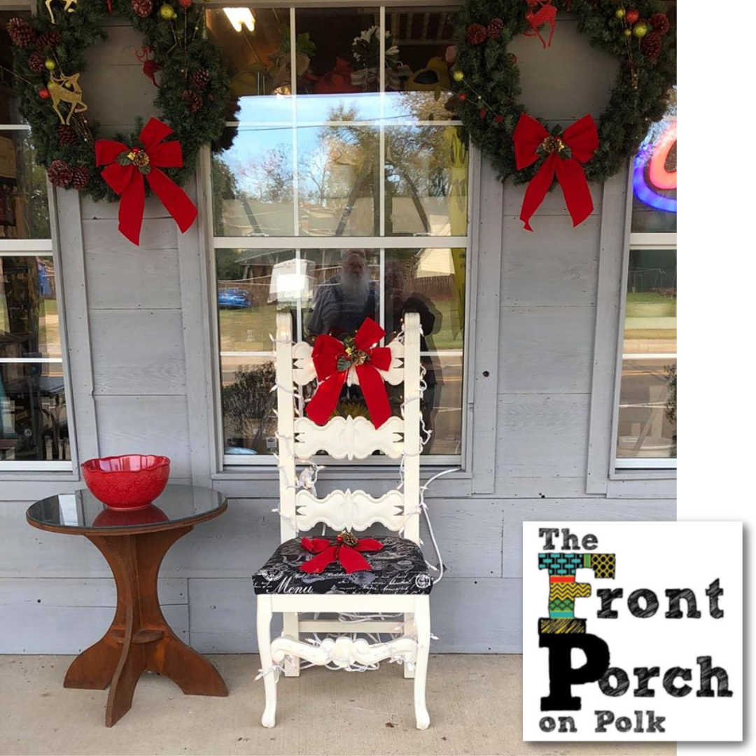 Santa at the Front Porch Store