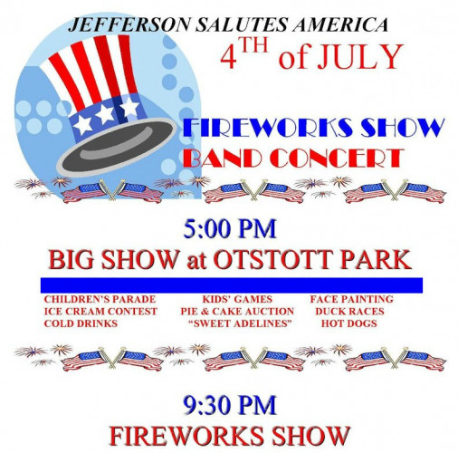 Jefferson Salutes America Celebration & Fireworks Show