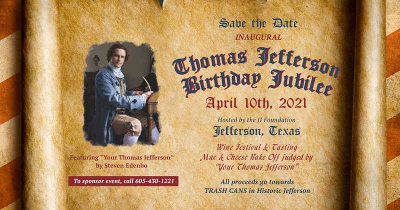 Thomas Jefferson Birthday Jubilee