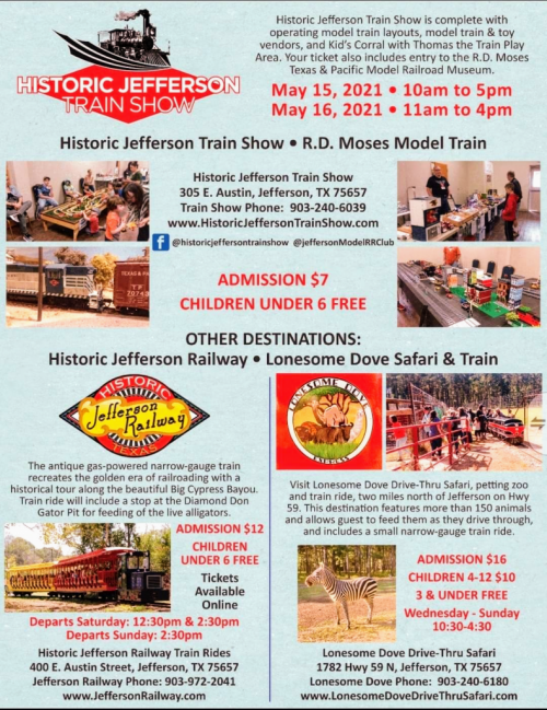 All-Aboard for Jefferson Train Days