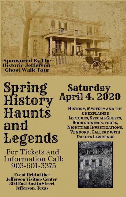 History, Haunts & Legends