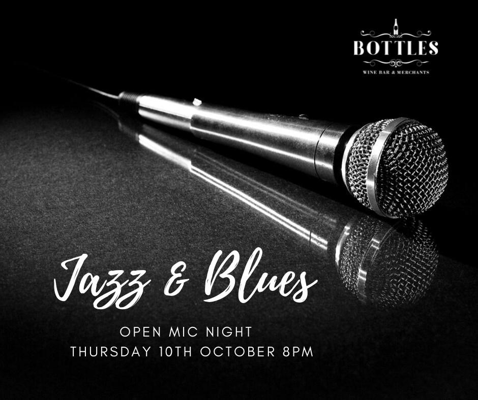 Jazz 'n' Blues Open Mic Night