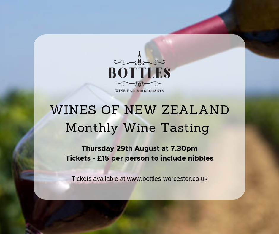 Wines of New Zealand Tasting