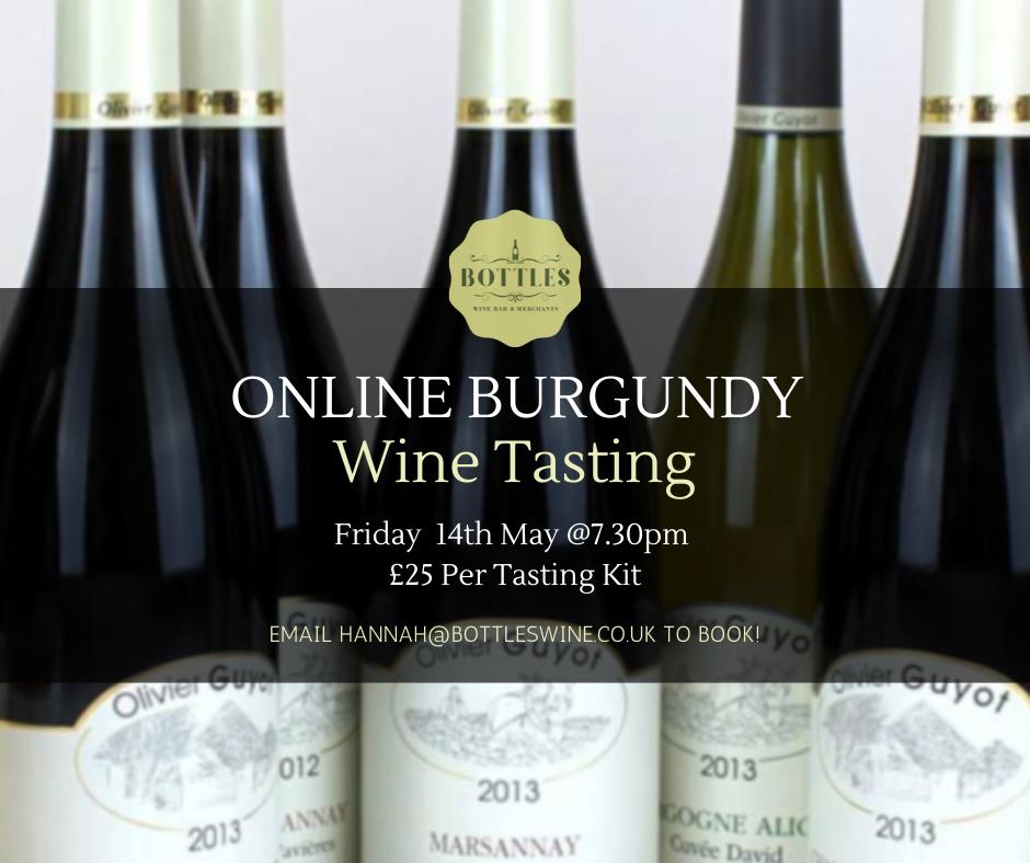 Online Burgundy Tasting