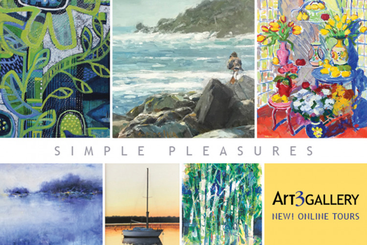 "Art 3 Gallery ""simple Pleasures"""
