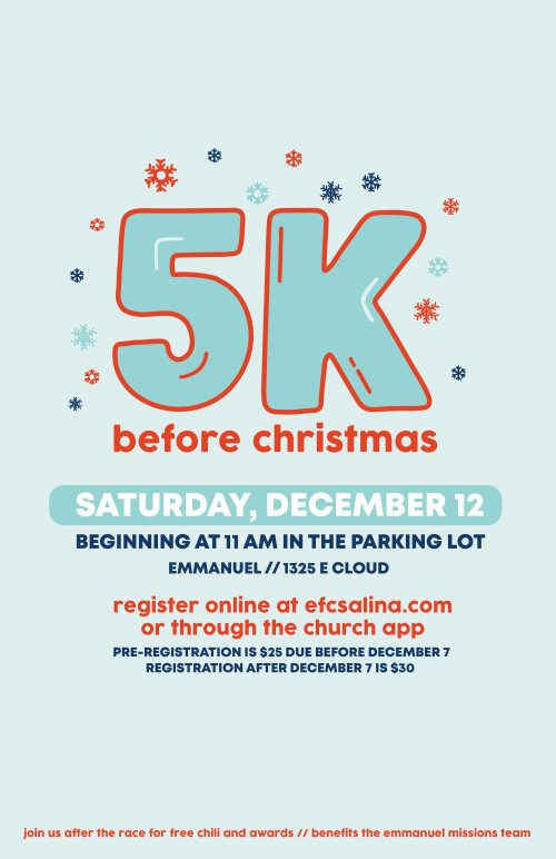 5K Before Christmas