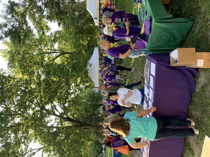 MANHATTAN'S WALK TO END ALZHEIMER'S
