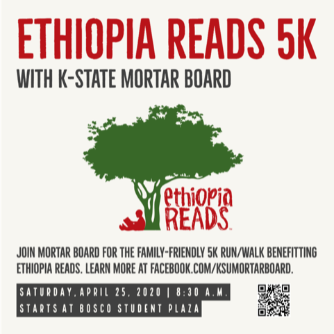 Ethiopia Reads 5K with Mortar Board