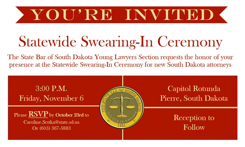 Statewide Swearing-In Ceremony