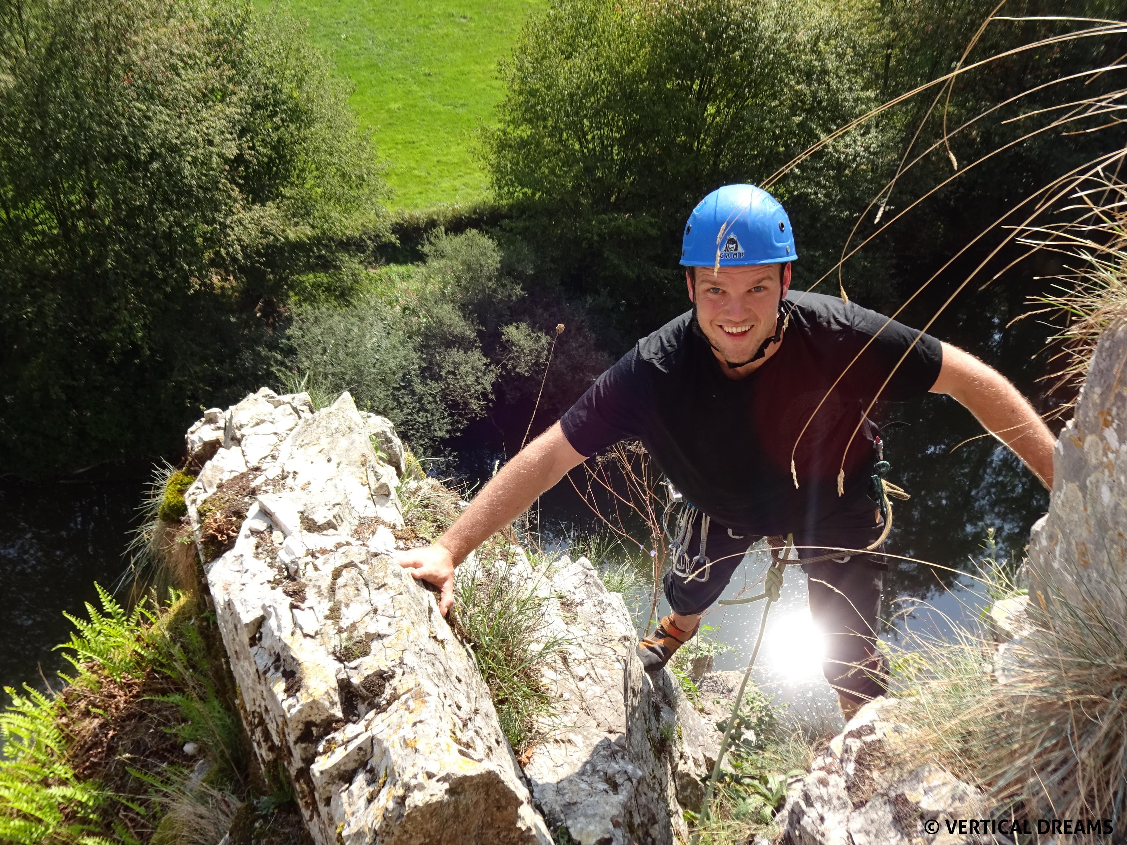 FORMATION - Découverte de l'escalade en grande voie - Freyr & Yvoir