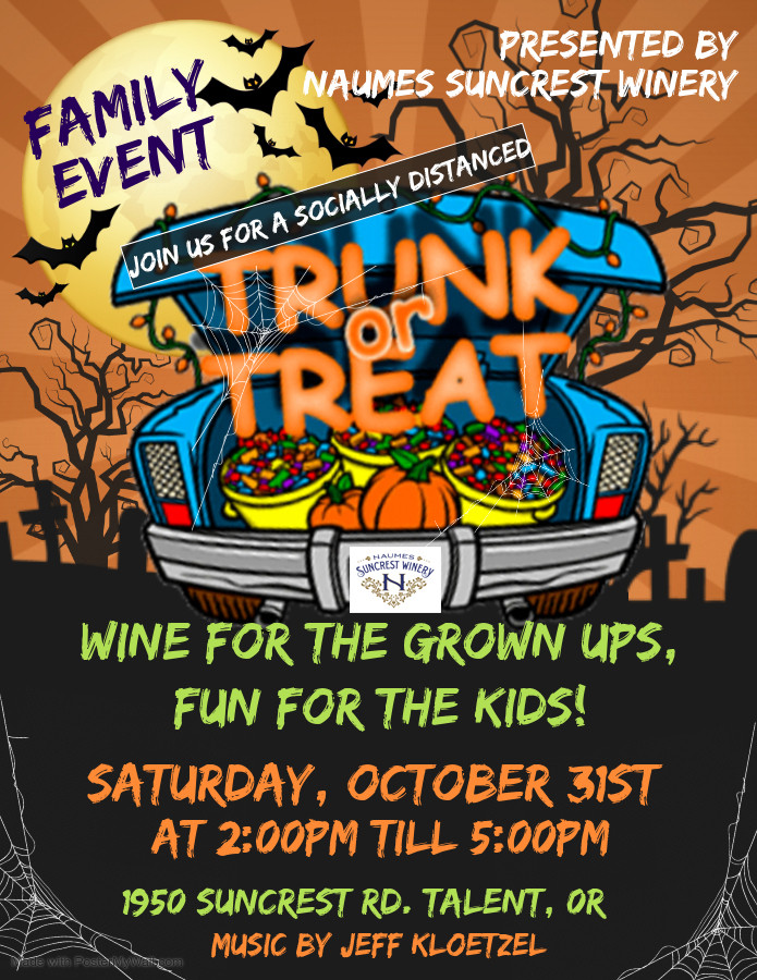 TRUNK or TREAT at Naumes Suncrest Winery!