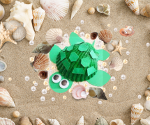July CC 2 - Seashell Turtle.png