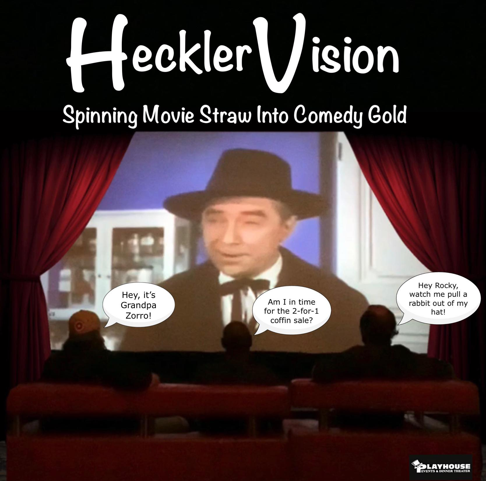 Heckler Vision an Adult Comedy Night