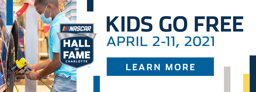 Race to the Hall this Spring Break for free kids admission