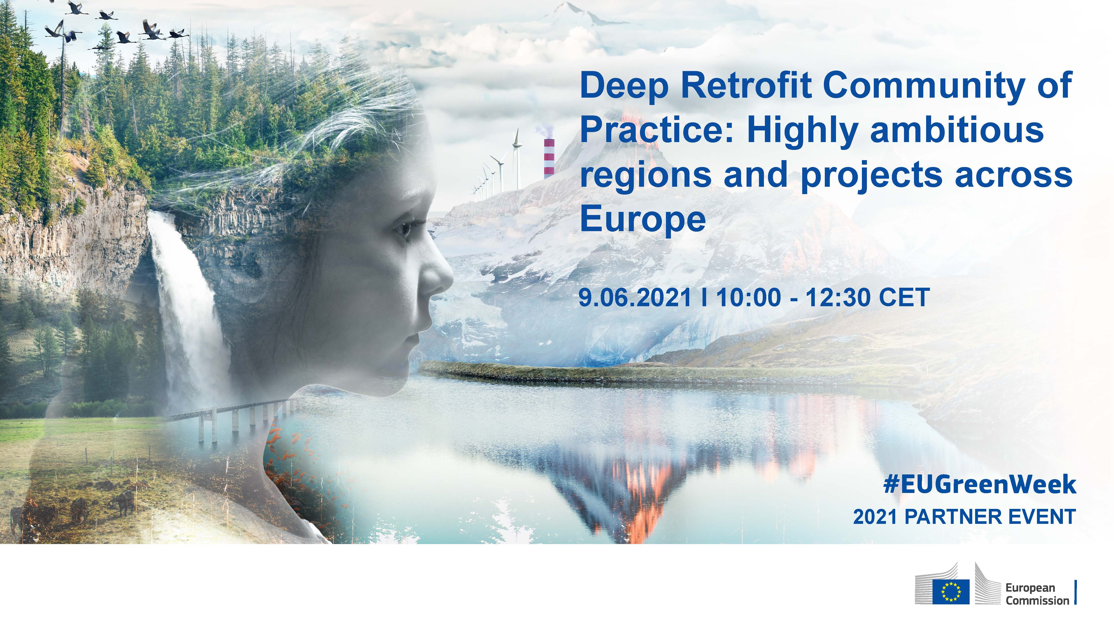 Deep Retrofit Community of Practice: Highly ambitious regions and projects across Europe