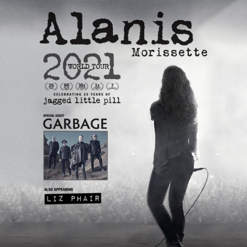Alanis Morissette with Garbage and Liz Phair - West Palm Beach, FL