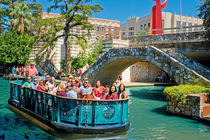 San Antonio River Walk Cruise, Hop-On Hop-Off Bus Tour and Tower of the Americas